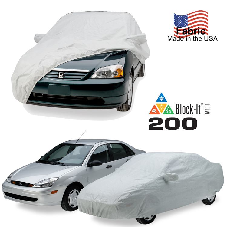 Block-It 200 Series Car Cover on Car