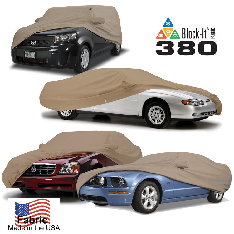 Block-It 380 Series Car Cover on Car