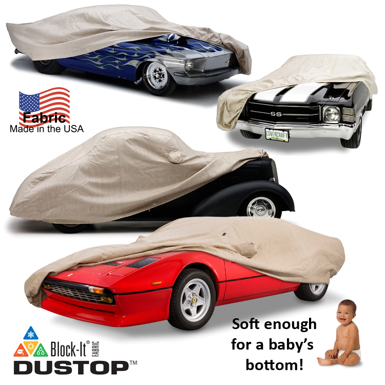 Dustop Car Cover on Car