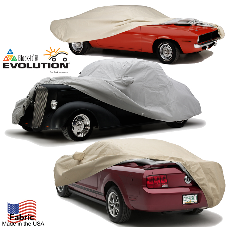 Block-It Evolution Car Cover on Car