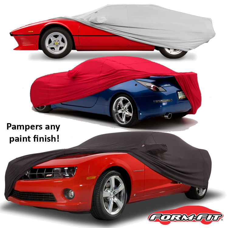 Form-Fit Car Cover on Car